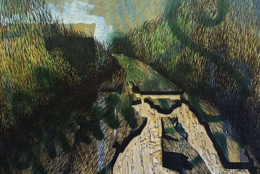 Lena Schmidt - Broken Street No 2 (detail)