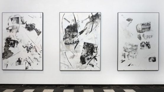 Leo Gabin - show at Cultural Centre Bruges, installation view, 2012-04, photo credits - Dust Magazine