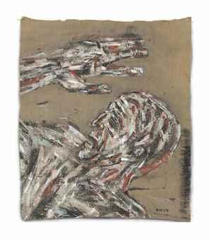 Leon Golub-Head-Arm-1969
