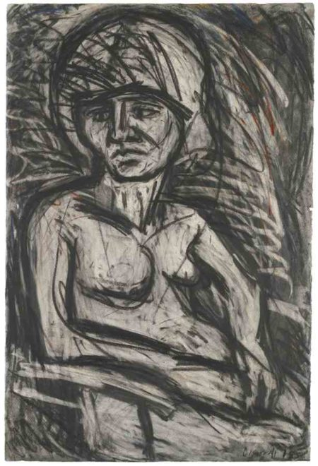 Leon Kossoff-Fidelma Number 2 Seated-1978