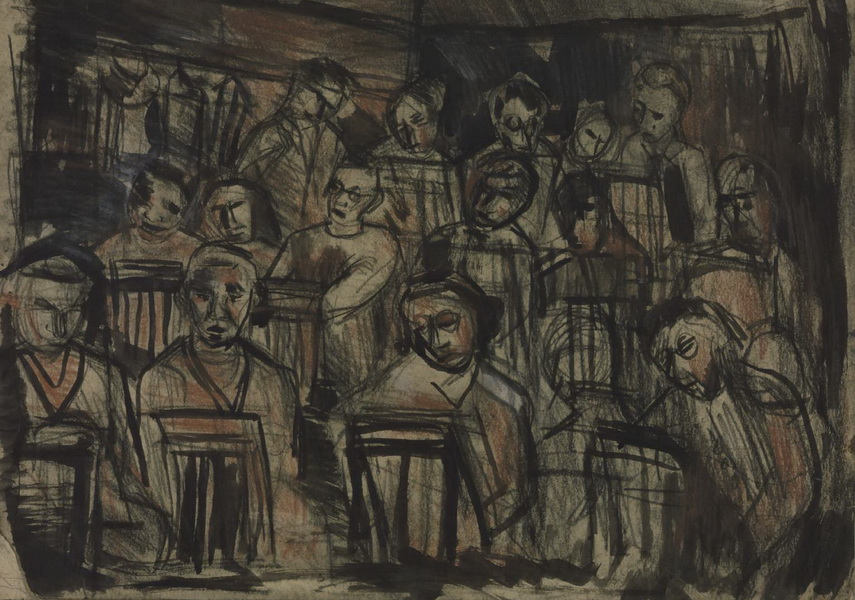 Kossoff is known for expressing landscapes through paintings and drawings with use of special new paint