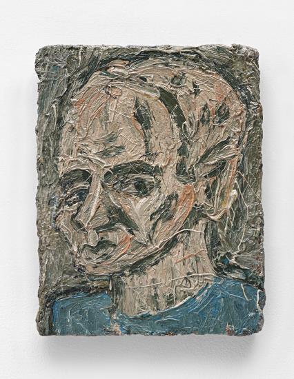 Leon Kossoff-Self Portrait No.2-1982