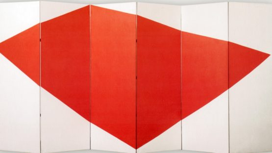 Leon Polk Smith - Correspondence Red-White, side B, 1966, photo credits - Wikiart