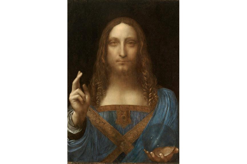 Leonardo Da Vinci - Salvator Mundi, circa 1500