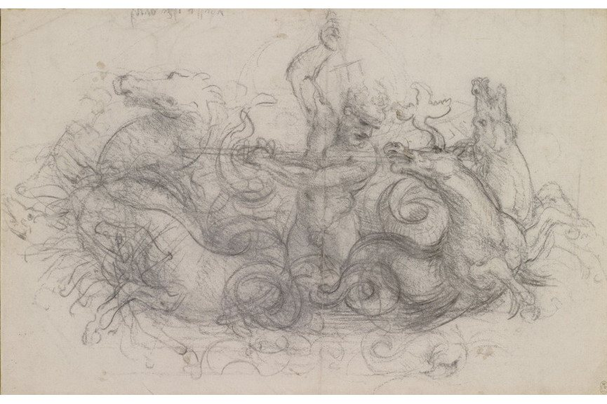 Leonardo da Vinci - Neptune