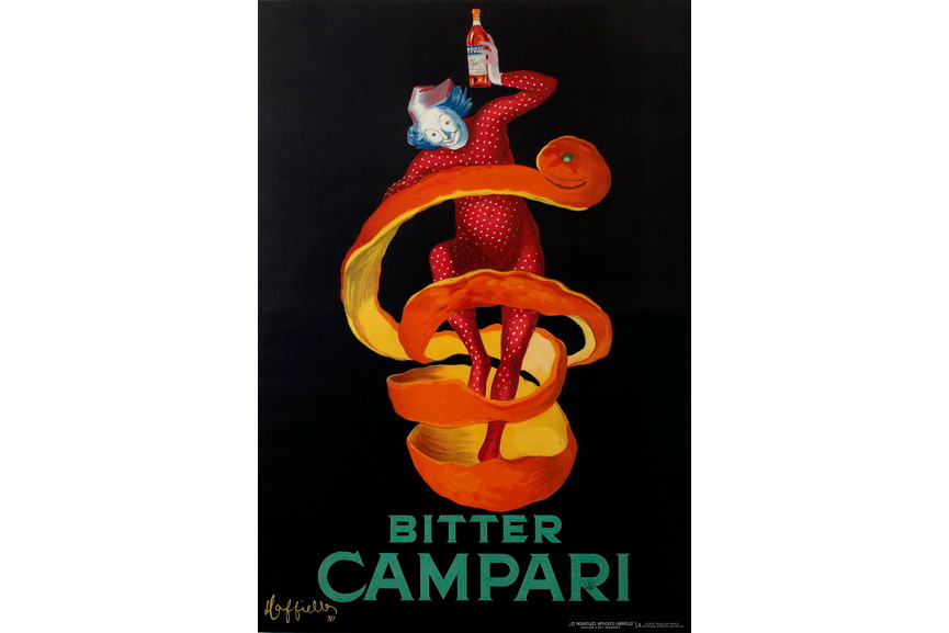 Leonetto Cappiello - Bitter Campari (Lo Spiritello)