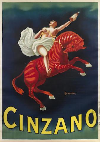 Leonetto Cappiello-Cinzano Vermouth Torino-1910