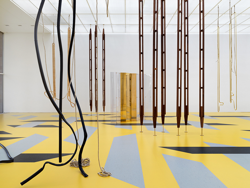 Leonor Antunes, Installation view Fondation Beyeler 2019