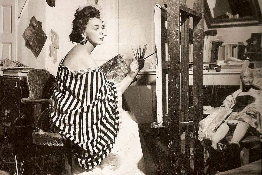 Leonor Fini artists world gogh vincent claude vinci