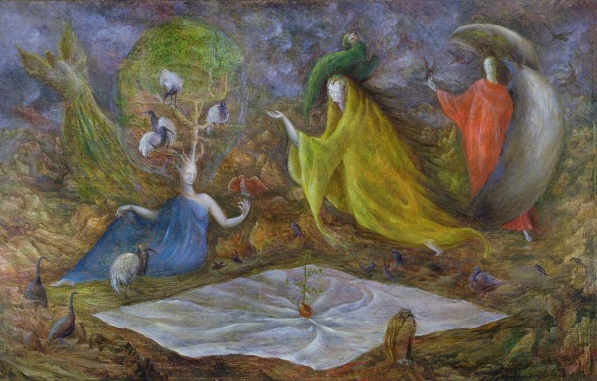 Leonora Carrington - The Pomps of the Subsoil