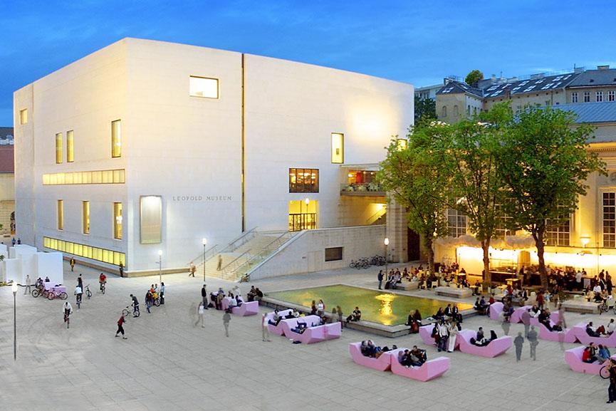 leopold museum vienna leopold austrian wien rudolf century largest museumsquartier viennese