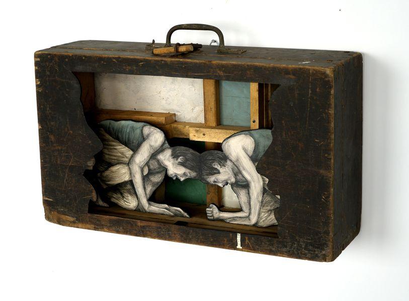 Levalet - Confrontation. Mazel Galerie