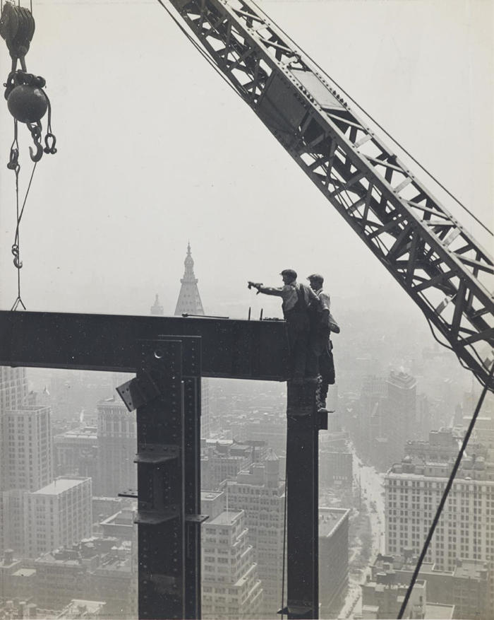 Lewis Wickes Hine-Skyscraper Construction, Empire State Building, New York City-1931