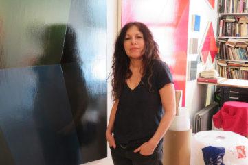 Li Trincere in the studio, 2019