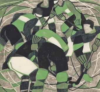 Lill Tschudi-Ice Hockey-1933