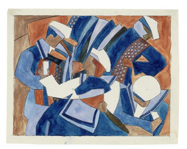 Lill Tschudi-Sailors' Holiday-1932