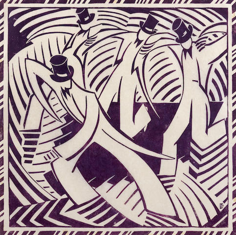 Lill Tschudi-Stepdancing-1936