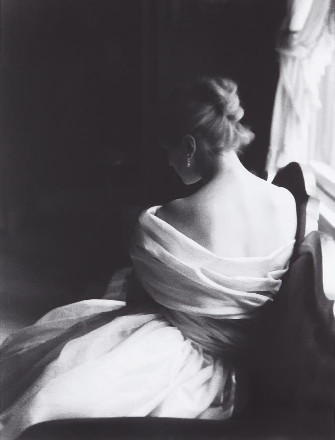 Lillian Bassman-Margie Cato [test shoot] New York-1950