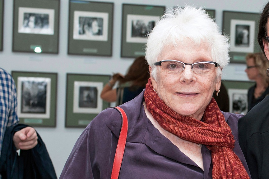 Linda Nochlin at The Walther Collection - Image via flickrcom