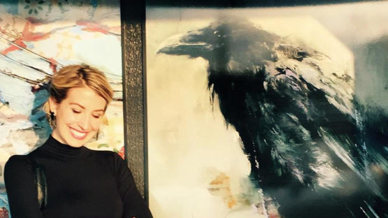 Lindsey Kustusch - portrait of the artist