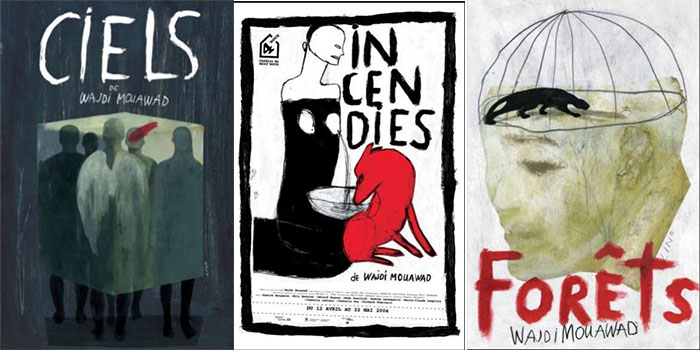 Lino - Poster for Ciels, Incendies and Forets by Wajdi Mouawad