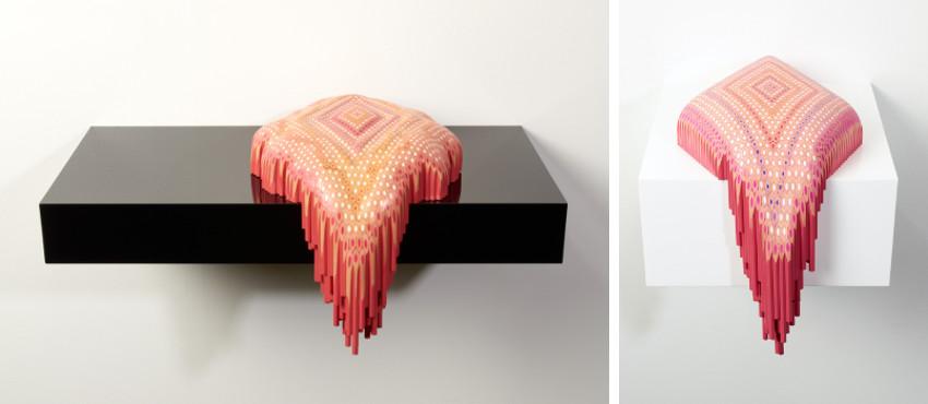 Lionel Bawden - Pattern Spill II, 2011 - Pattern Spill III, 2011
