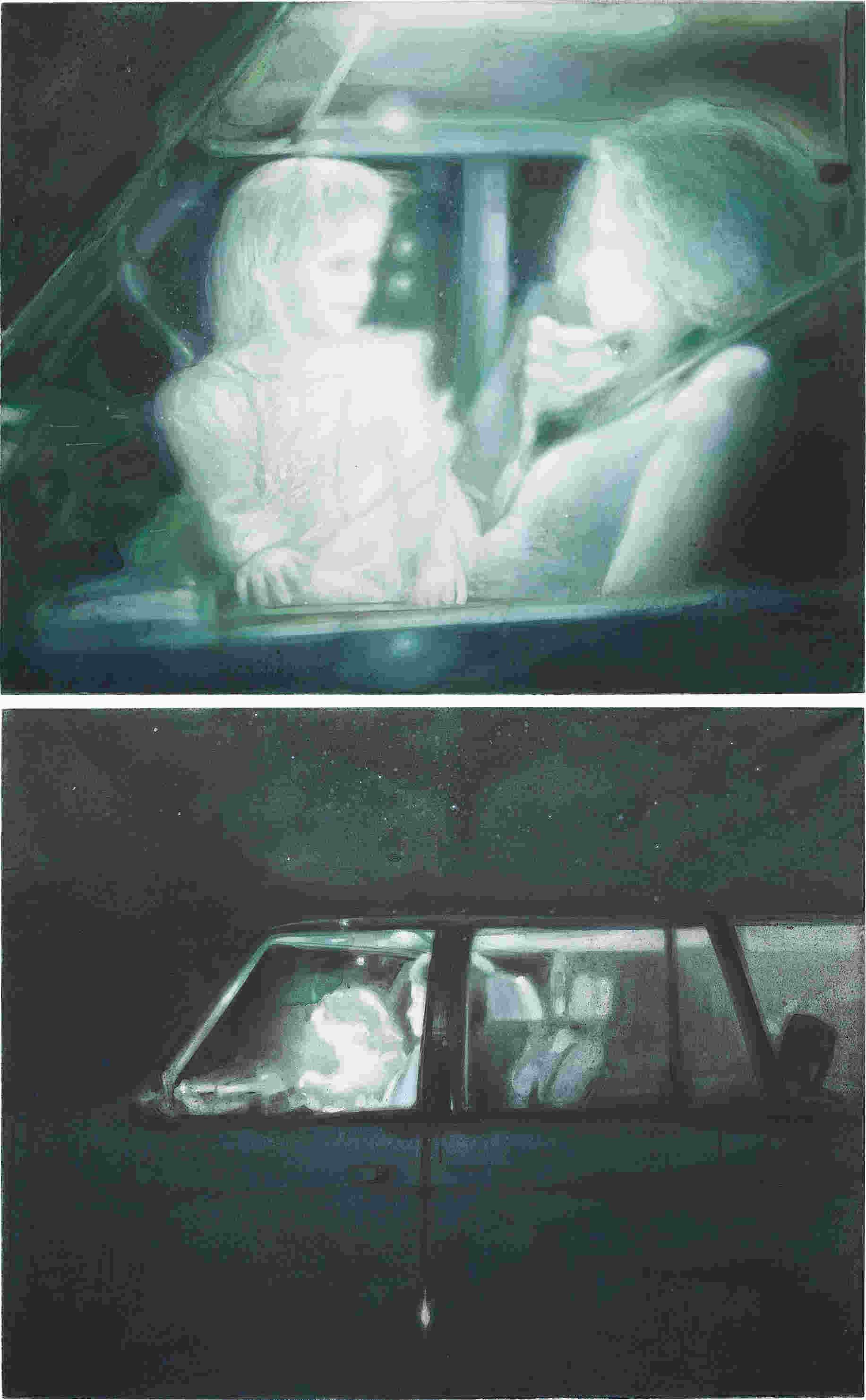 Lisa Brice-Two works: (i) Car; (ii) A + R Car-2005