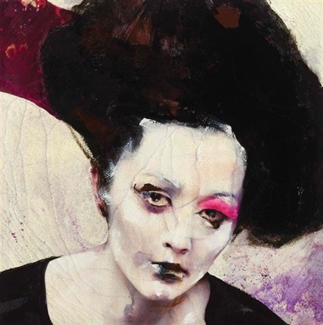 Lita Cabellut-Dried tear 65-2013