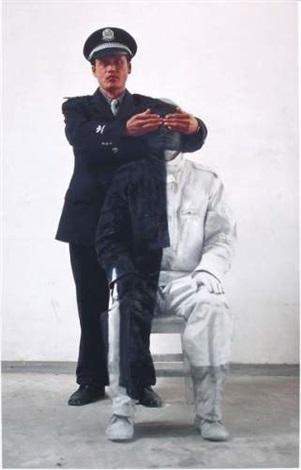Liu Bolin-Camouflage No.16, Policier 1-2006