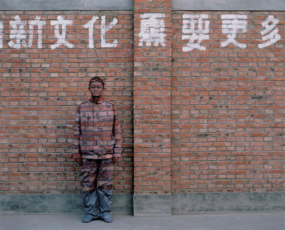 Liu Bolin-Camouflage Cities No.3-2005