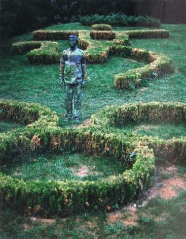 Liu Bolin-Garden from the Olympic Games-2007