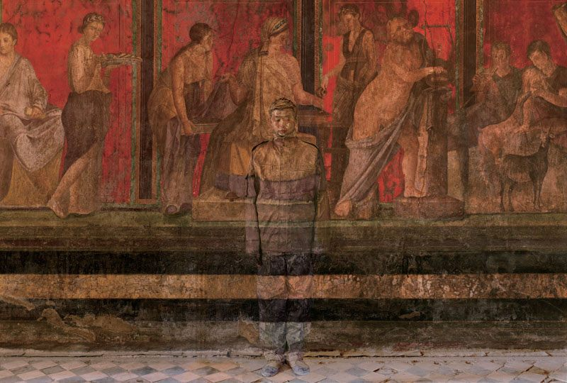 Liu Bolin - Hiding in the City No. 5, 2012, Italy, 2012