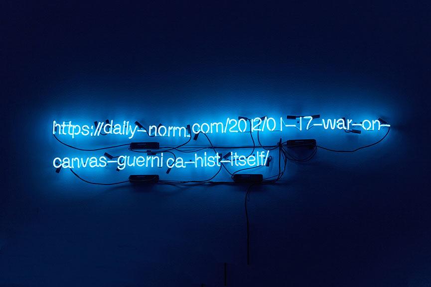 Liu Bolin - The Way to Future No.6, 2016