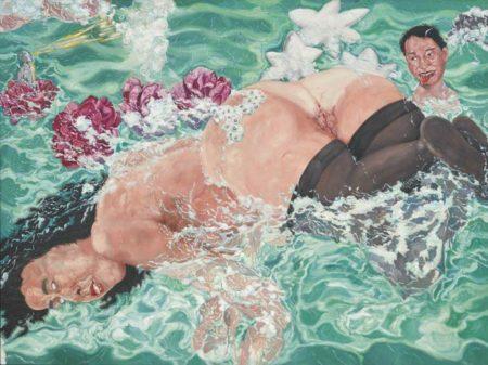 Liu Wei (1965)-Swimming-1994