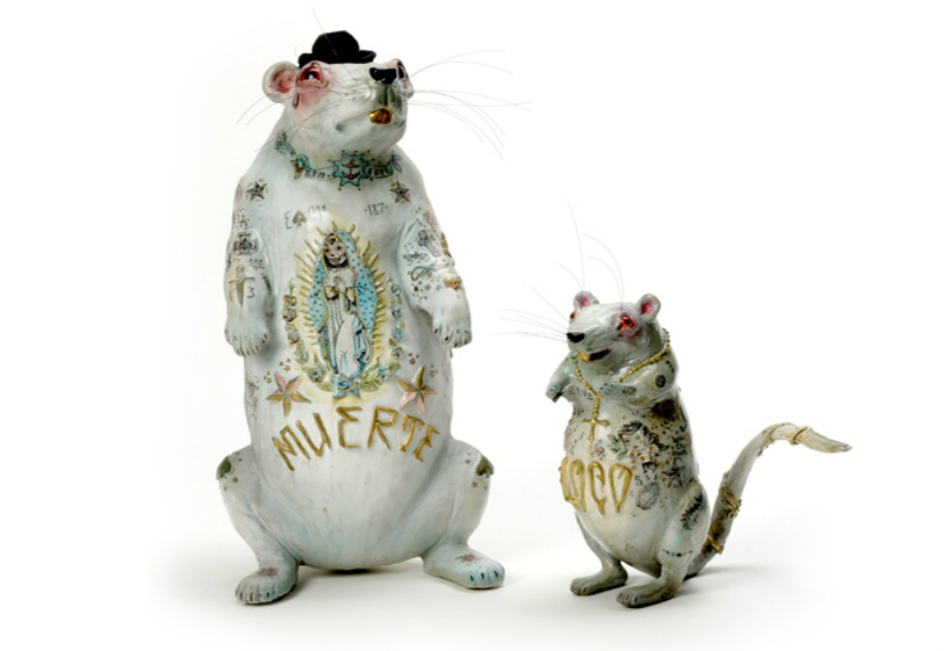 Liz McGrath - Muerte and Little Loco, 2008
