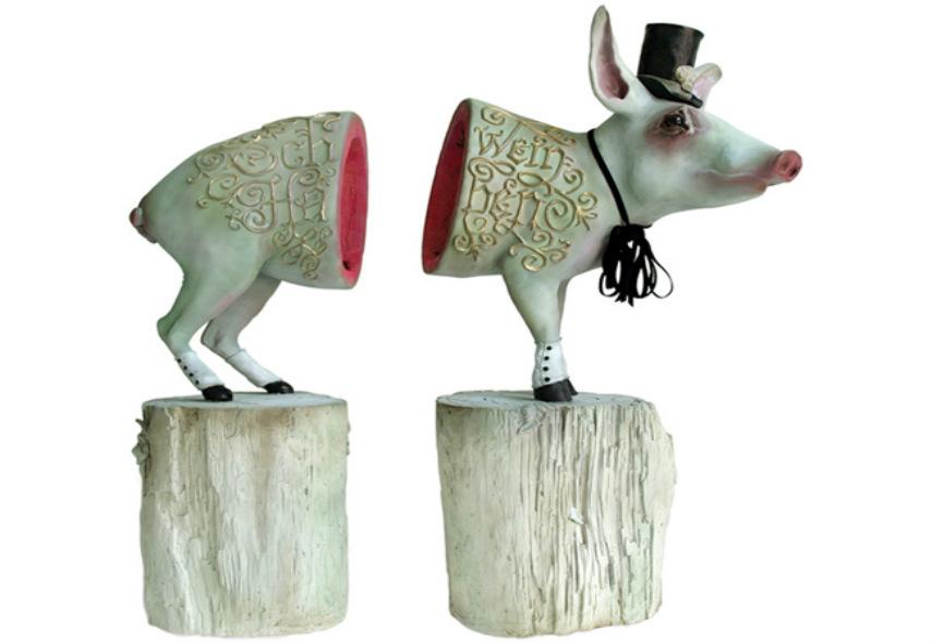 Liz McGrath - Schwein Haben, 2008