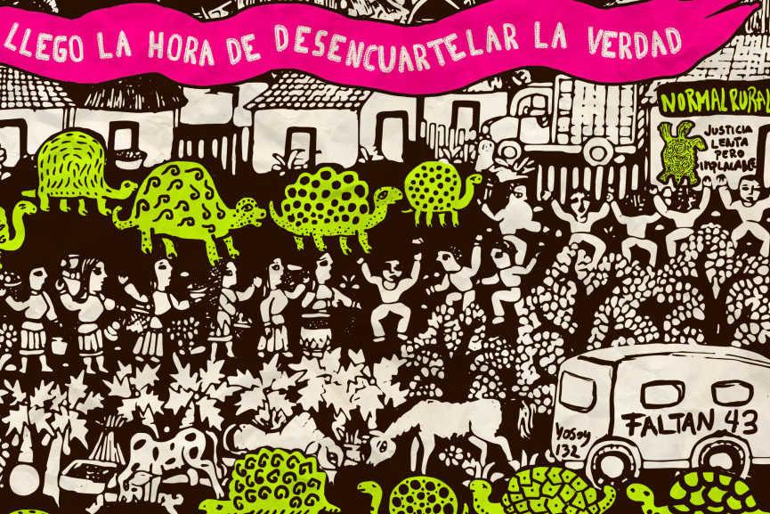 Llegó la hora de desencuartelar la verdad. Un año de #Ayotzinapa, detail