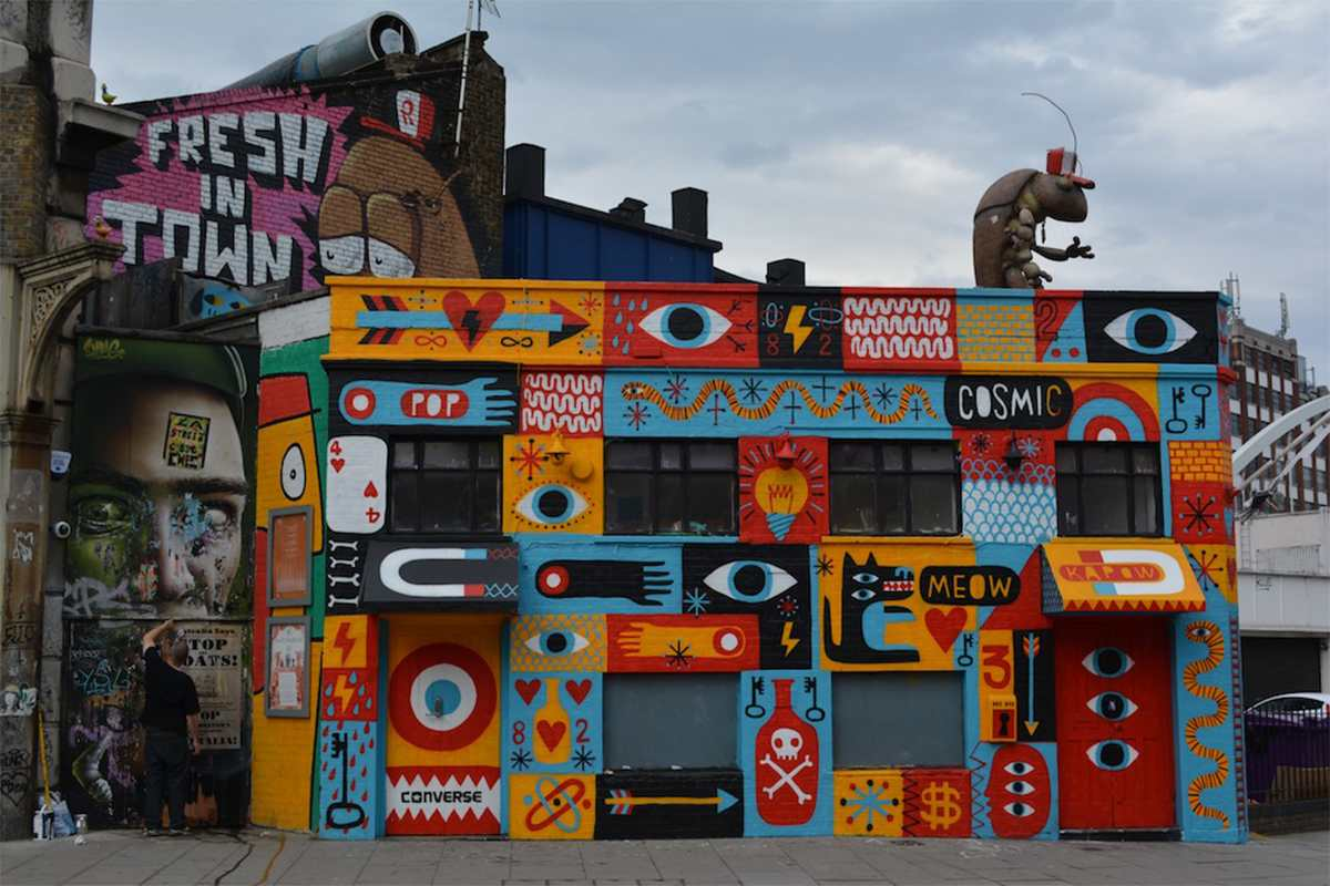 Best Street Art Pieces in London You Have to Check Out!