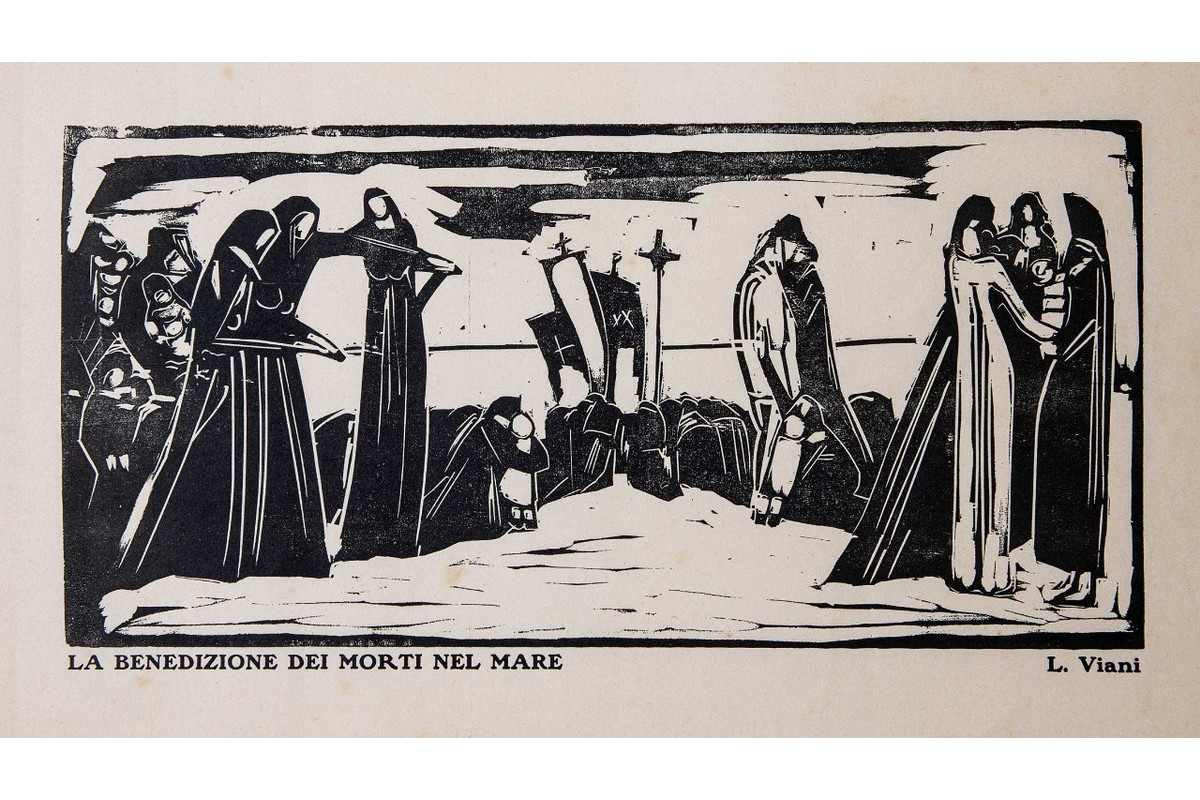 Lorenzo Viani - The Benediction of the Dead at Sea