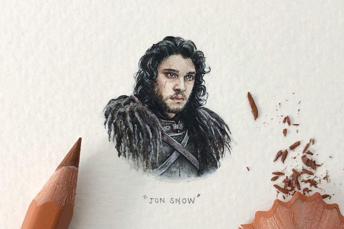 Lorraine Loots - Jon Snow (detail)