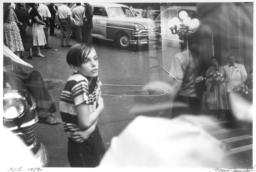 Louis Faurer - Accident, New York, 1952