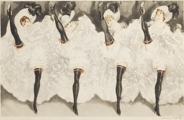 Louis Icart-Can Can-1933