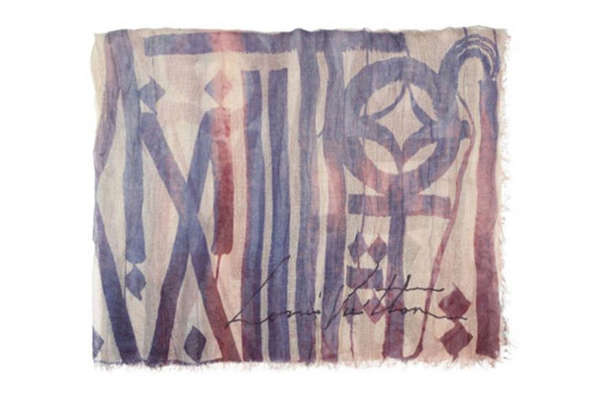 LV art scarves