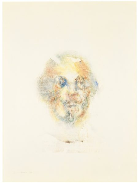 Louis Le Brocquy-Study Towards An Image Of William Shakespeare-1982