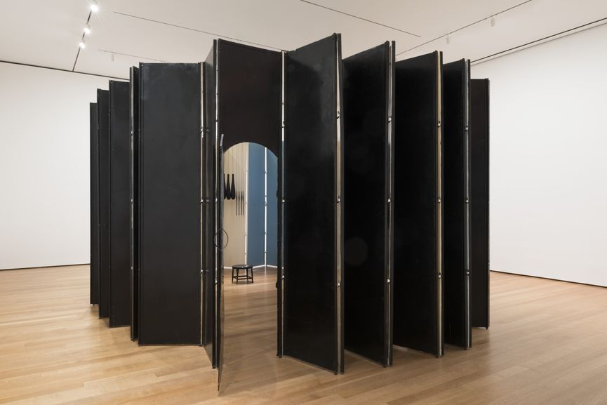 Louise Bourgeois - Articulated Lair, 1986 (Installation View at MoMA)