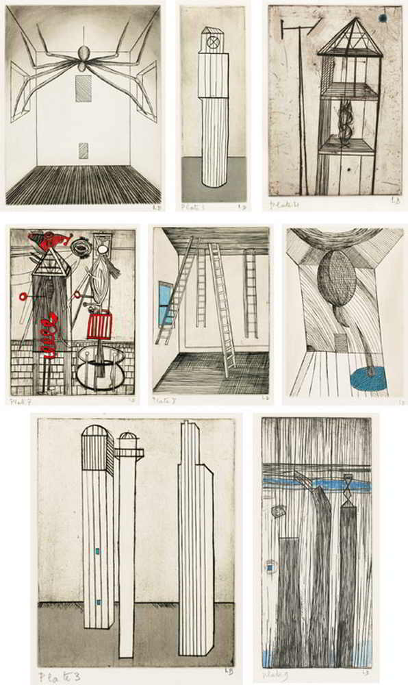 Louise Bourgeois-He Disappeared Into Complete Silence: 1947-2005-2005