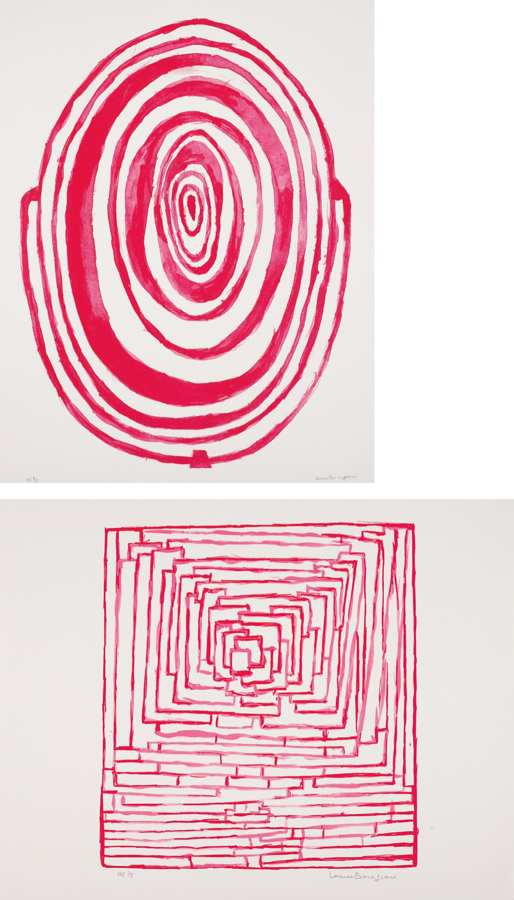 Louise Bourgeois-Mirror for Red Room; and Insomnia-1996
