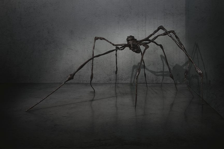 Louise Bourgeois - Spider, 1997, sold for $28 million in auction