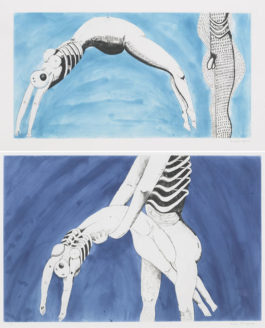 Louise Bourgeois-Triptych For The Red Room-1994