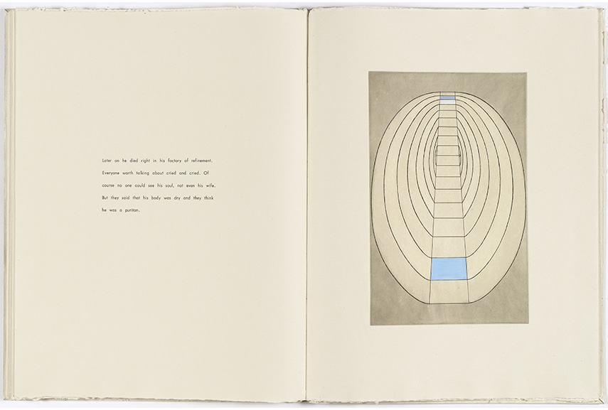Untitled, from the illustrated book, the puritan. 1990